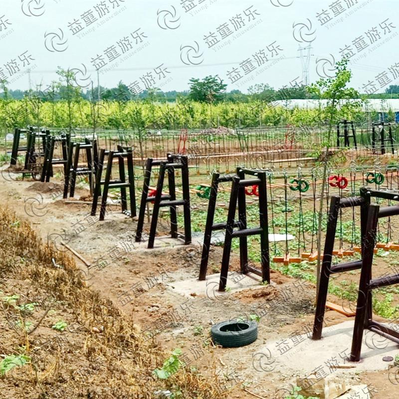 平顶山郏县中小型农场水上拓展项目竣工(图12)